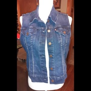 Levis Stretch denim vest